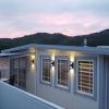 Led-belysning til fasade