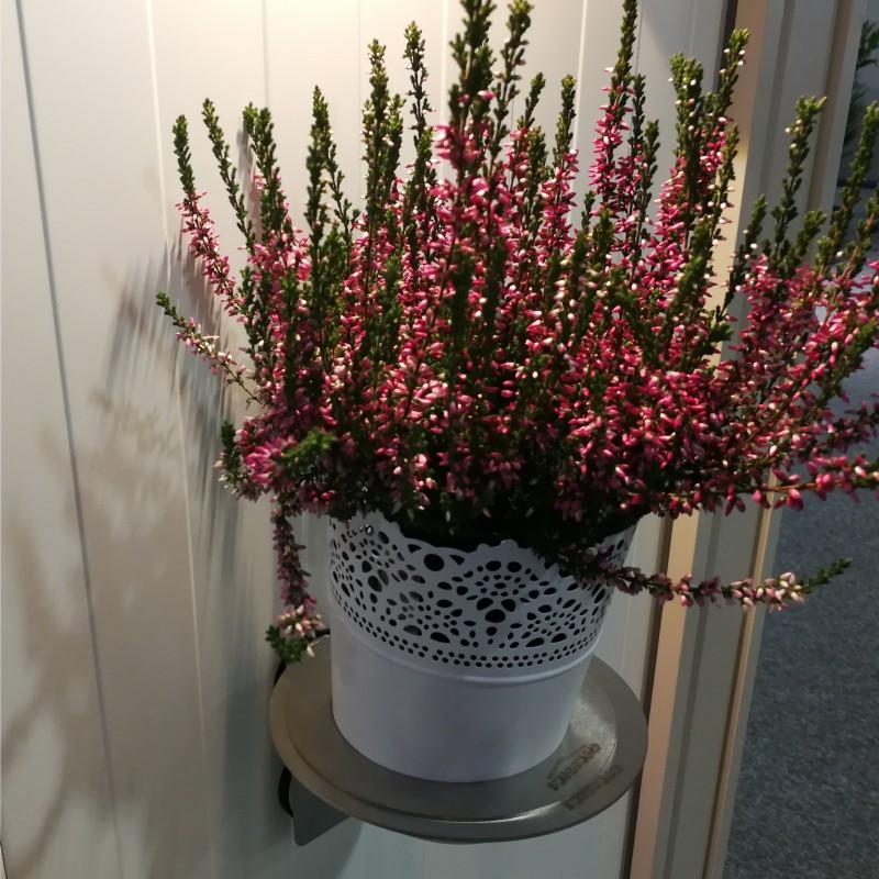 Blomsterpotteholder med magnetfeste