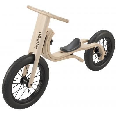 Smartsykkel - LITEN PAKKE: Barnesykkel (3 i 1), Gynge-elefant, Pedalsykkel
