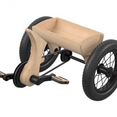Fra balanse-sykkel til Trehjulssykkel