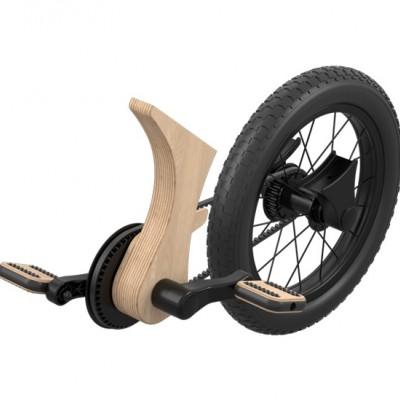 Fra balanse-sykkel til pedalsykkel